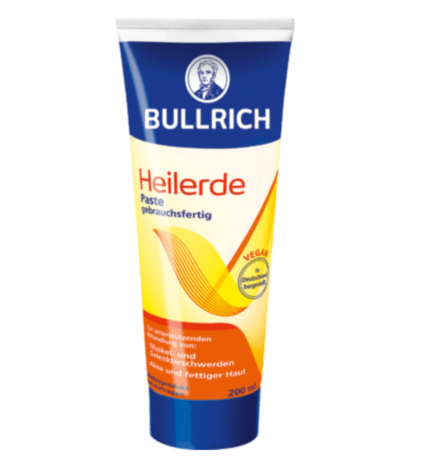 bullrich heilerde paste akne maske